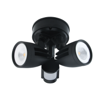 SPOTTER TWIN LED SECURITY LIGHT - MOTION SENSOR
