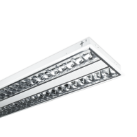 TROFFER T5 LOUVERED